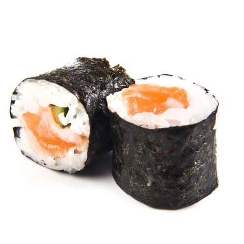 Makis au saumon et au thon