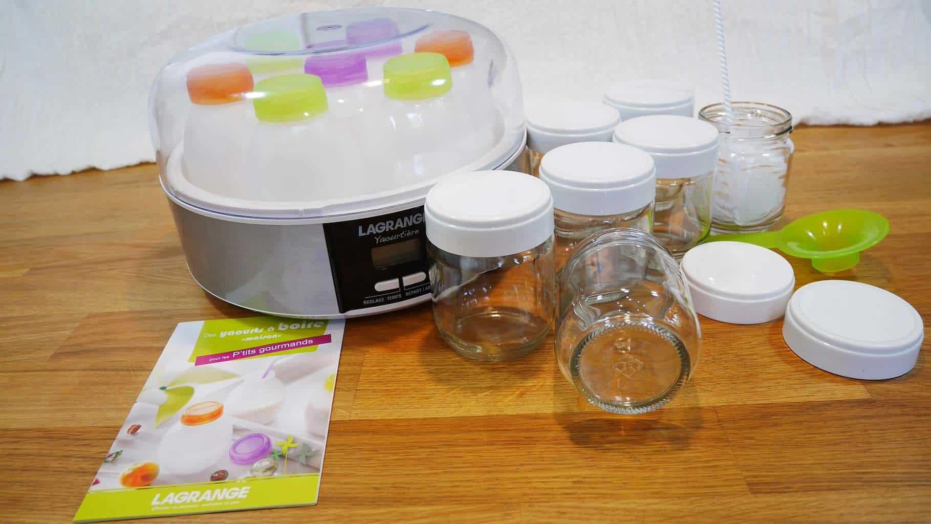 [Test] - La yaourtière Lagrange Kit 439103 - Cuisine Test