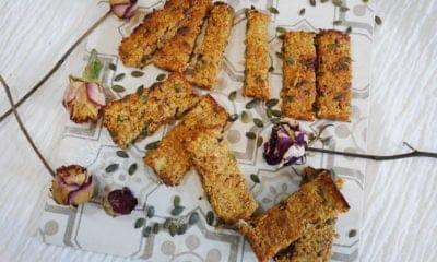 Recette Végétales : Barres aux dattes et à l'avoine du livre La Cuisine Végétarienne du Moyen-Orient