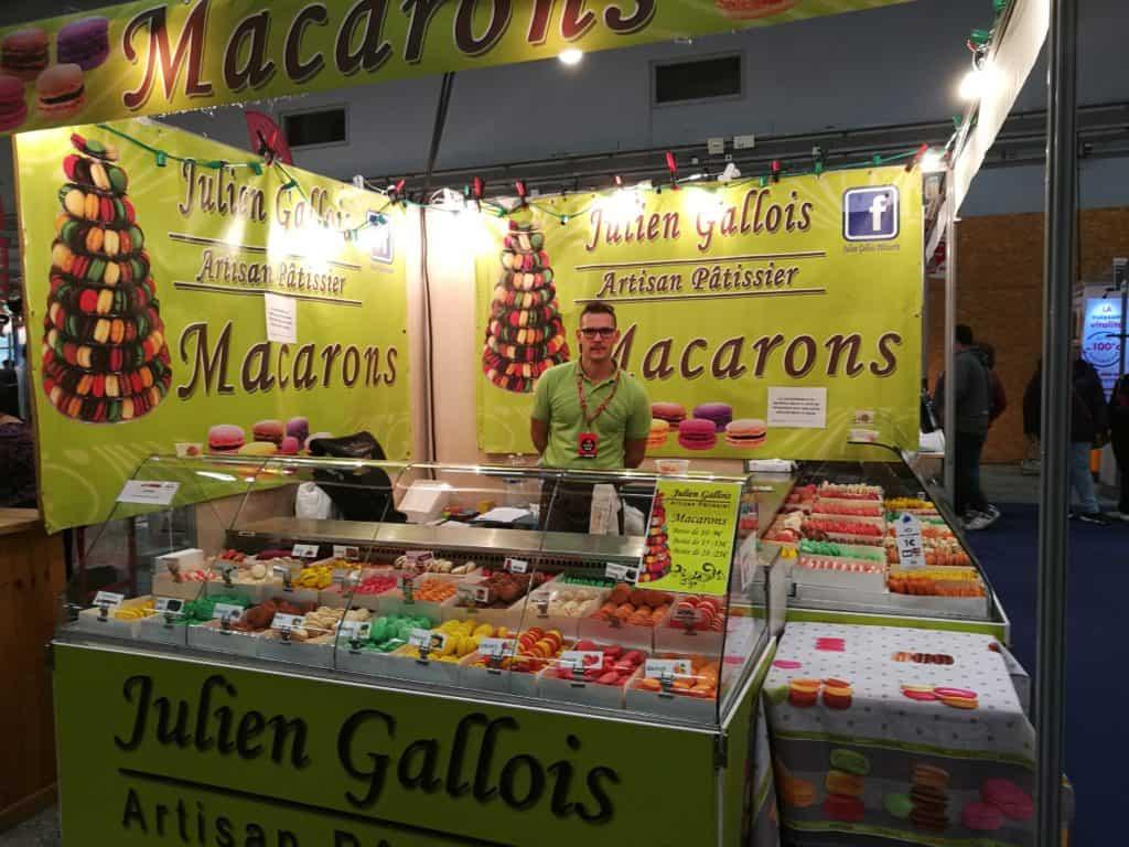 Les macarons de Julien Gallois