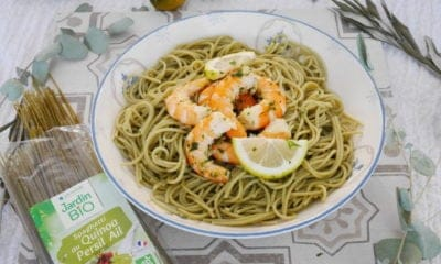 [Impression] Les spaghetti au Quinoa Persil Ail de Jardin Bio