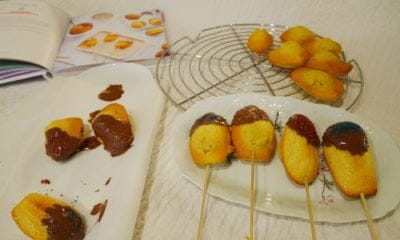 Madeleines Sucettes au citron