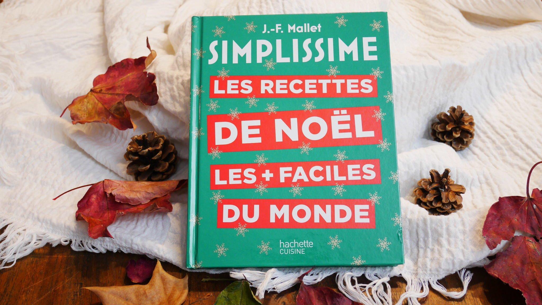 Livre Simplissime les recettes de noël les plus facile du monde