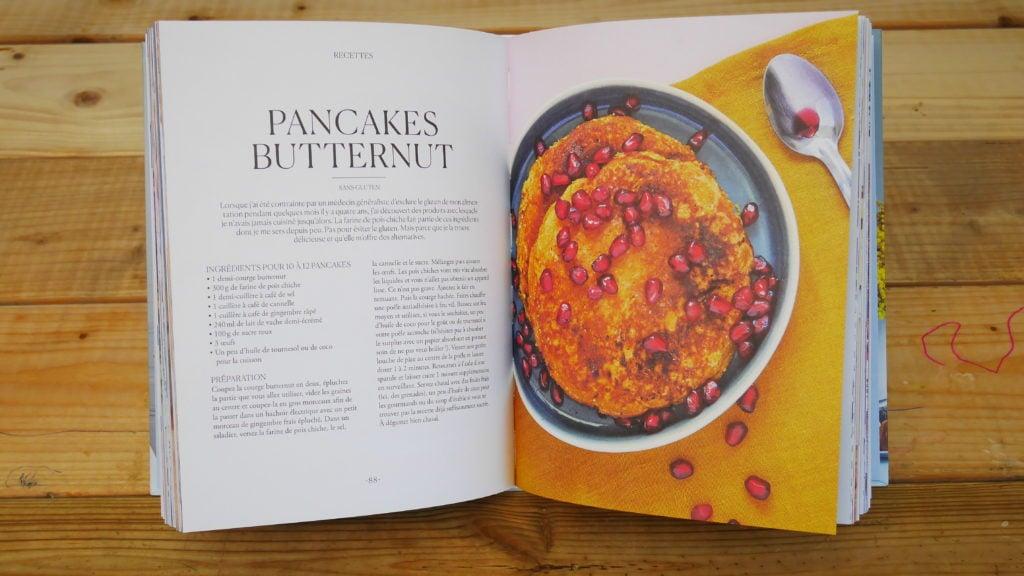 Pancakes Butternut du livre de Lili Barbery-Coulon