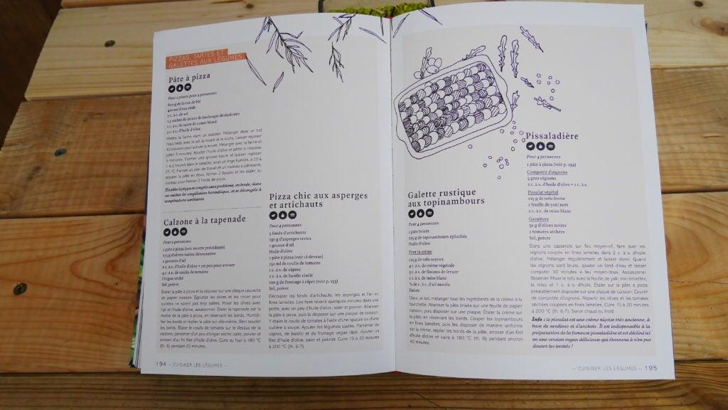 De nombreuses recettes vegan de Marie Laforêt