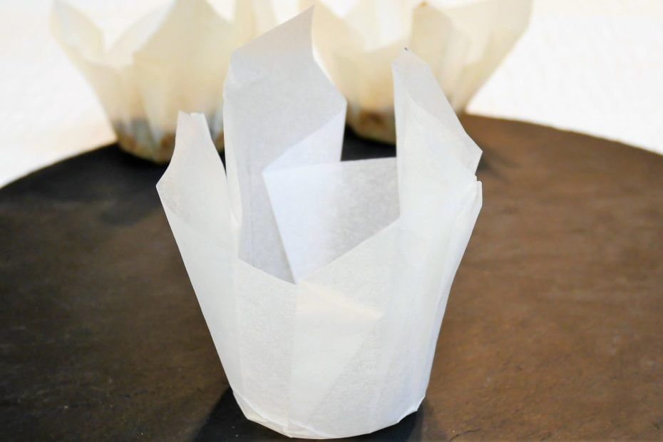 Fabriquer soi-même des caissette à muffins