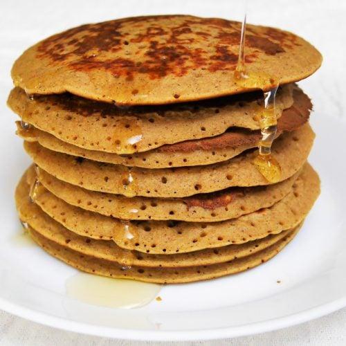 Pancakes au lait ribot sans gluten