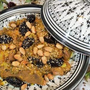 Tajine marocain au vaux