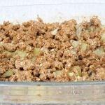 crumble de légume du livre en 2h je cuisine light pour toute la semaine