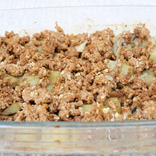 Crumble de patates douces