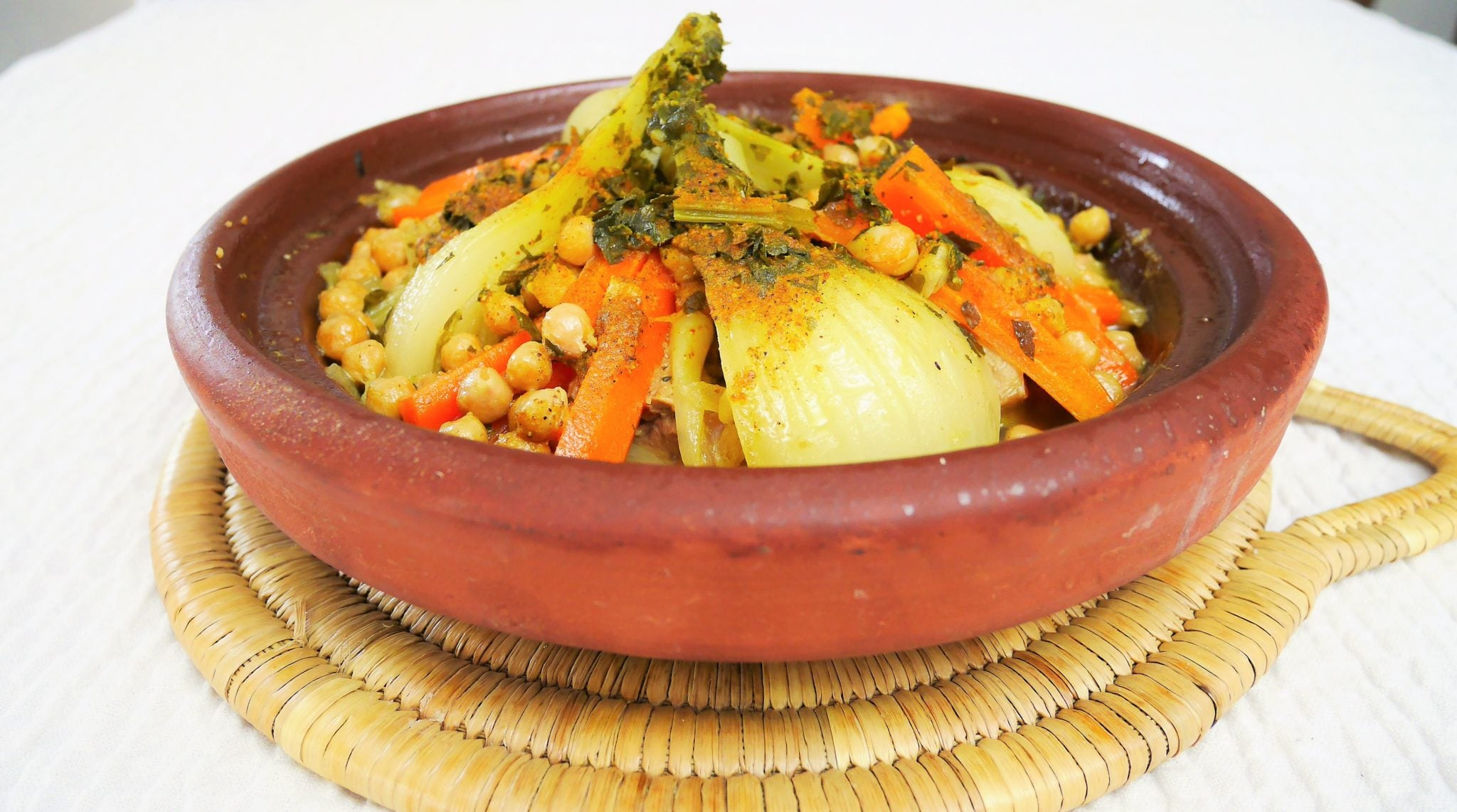 Tajine de vaux aux légumes fenouil et carottes