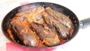 recette marocaine d'aubergines