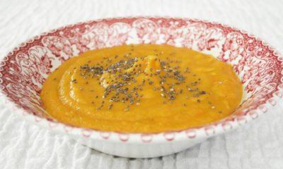 Velouté de carottes au curry – Une recette du livre de Lloyd Lang