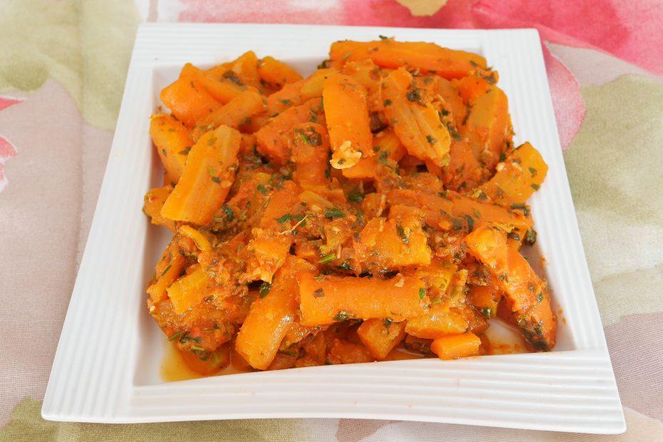 recette marocaine de carotte