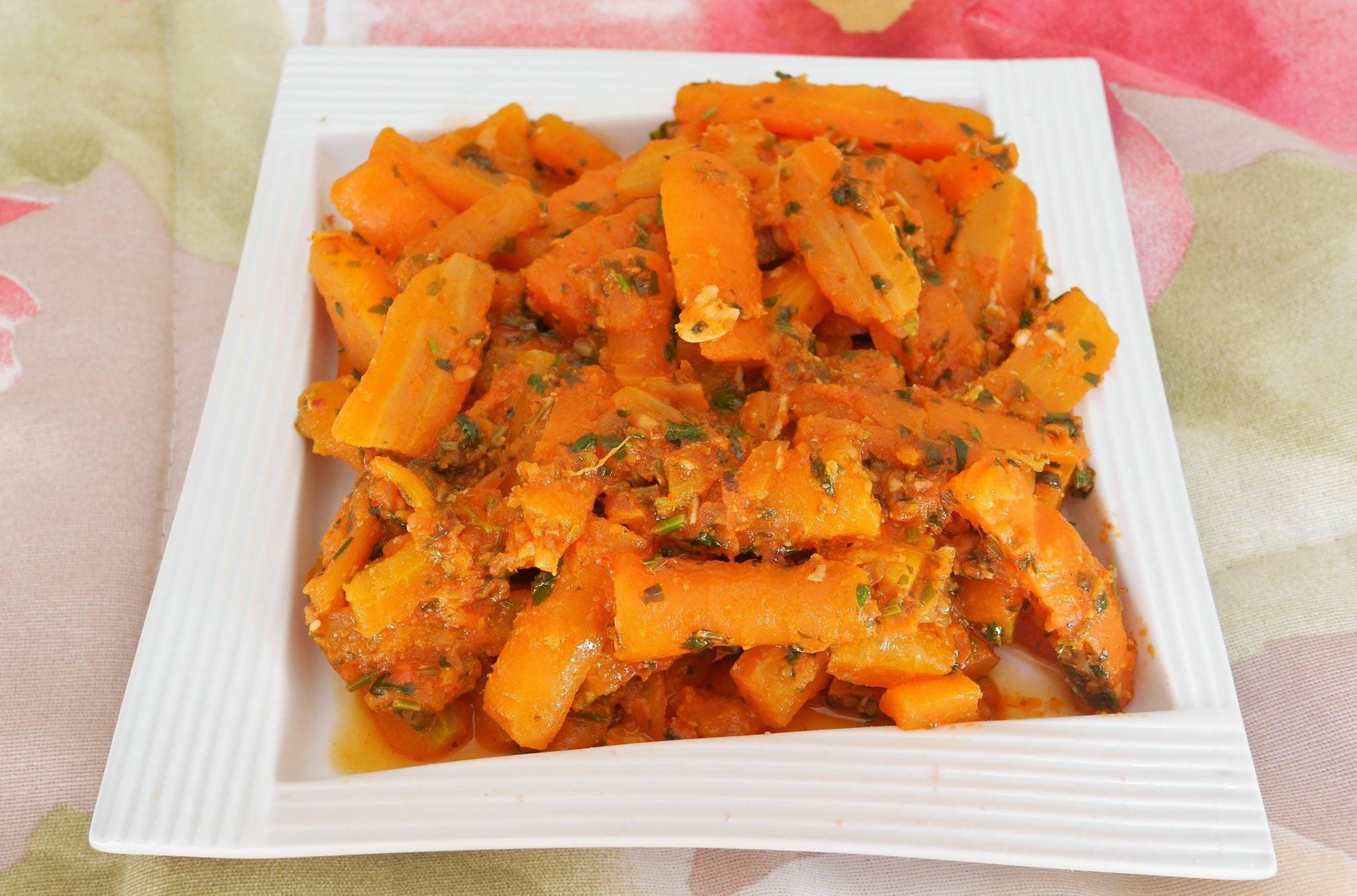 Recette De Carottes A La Marocaine Cuisine Test