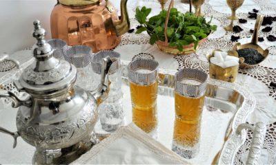 Thé à la menthe – Recette du livre Ma cuisine marocaine