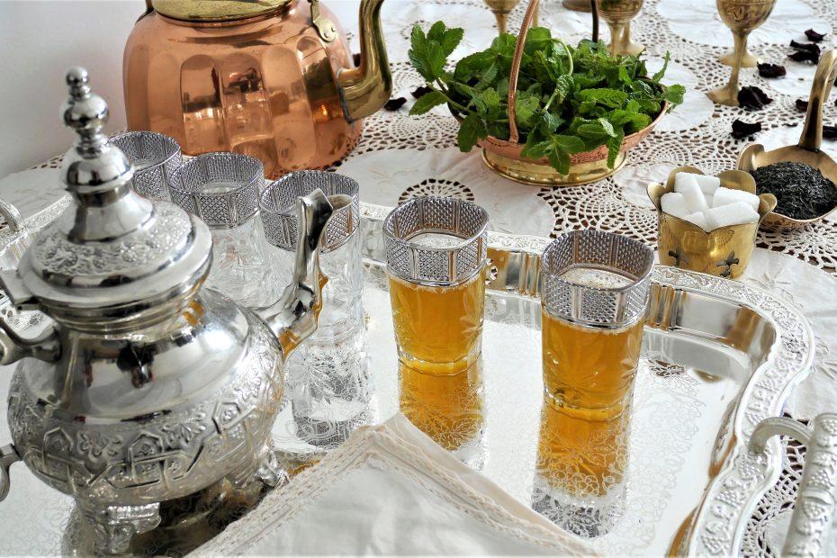Thé à la marocaine