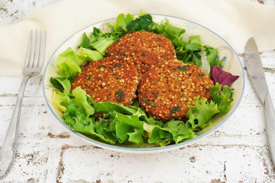 recette de steak végétal du livre mieux manger toute l'année de laurent mariotte