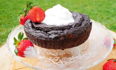 Le gâteau chocolat sans beurre – Recette du livre Chefclub Light & Fun