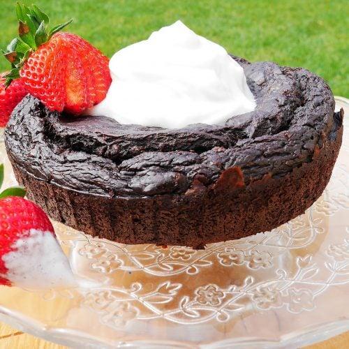 Le gâteau au chocolat sans beurre