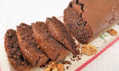Gâteau au chocolat sans sucre raffiné IG bas