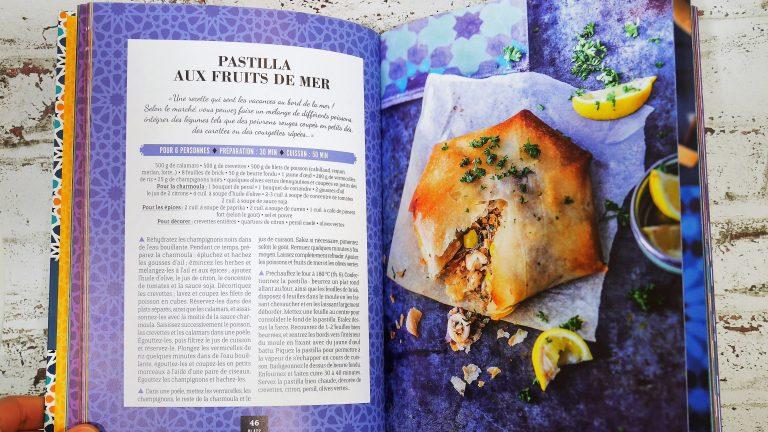 Recette de Pastilla du livre de Bouchra Atita du blog Ma fleur d'oranger