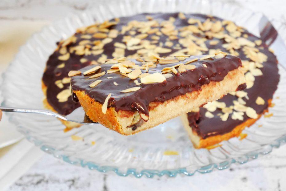 tarte au chocolat banane au blender