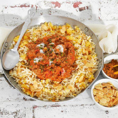 Viande hachée à l'indienne