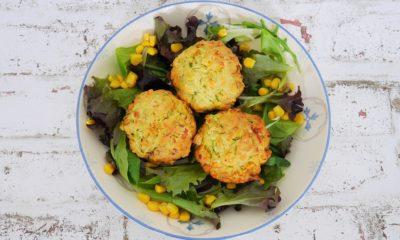 """Muffins de courgette et maïs – Recette du livre """"cuisiner à l'avance pour la semaine"""" de Dorian Nieto"""