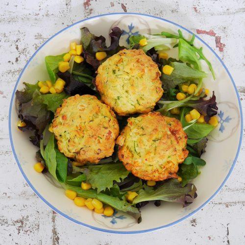 Muffins de courgettes et maïs