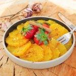 Salade d'orange, recette marocaine