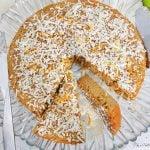 tarte coco et zeste d'orange
