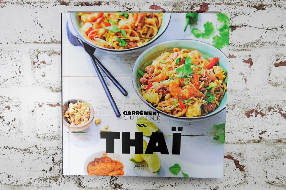 Livre Thaï de Hachette cuisine