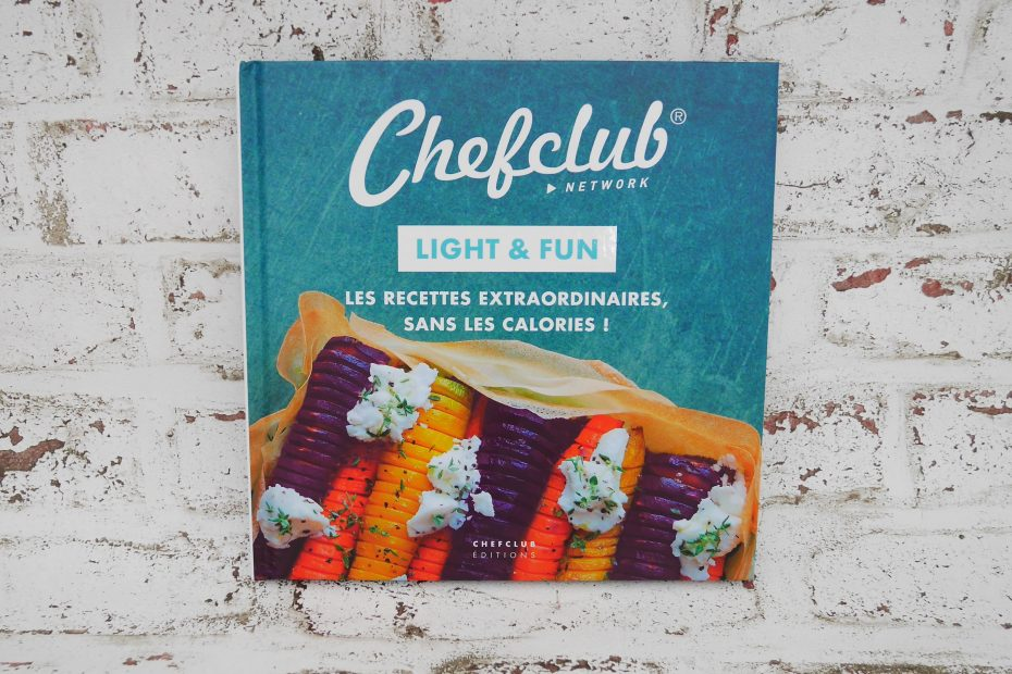 Avis Je Teste Le Livre Chefclub Network Light Fun Cuisine Test