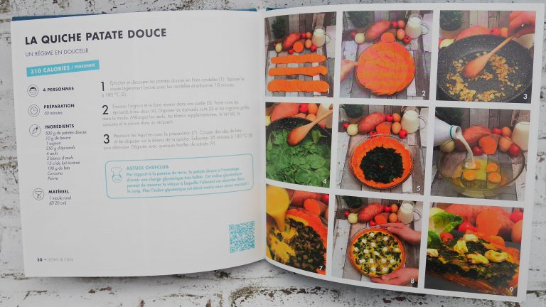 Exemple de photo du livre chefclub light and fun