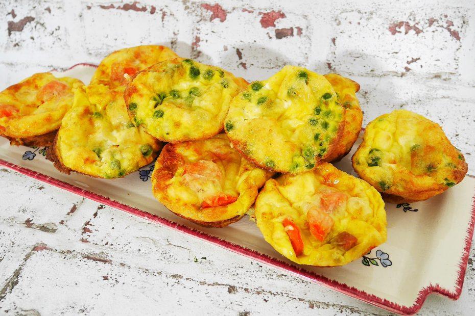 Muffins salés pour l'apéro