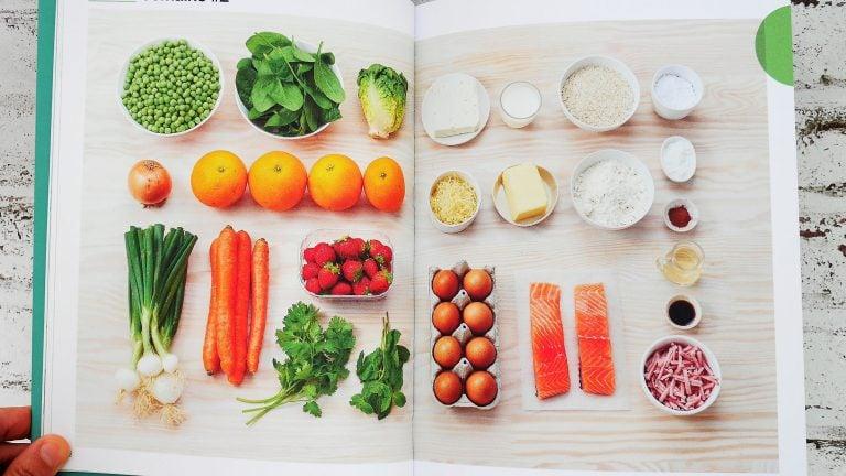 Illustration ; En 1 heure je cuisine mes lunchbox pour toute la semaine