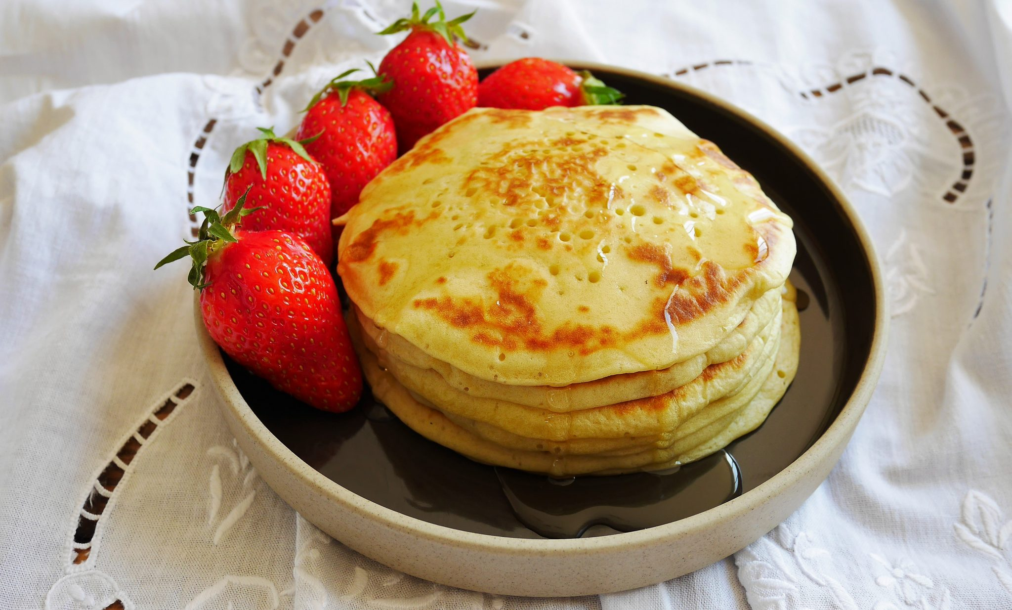 Pancakes au lait de coco recette du livre THAÏ