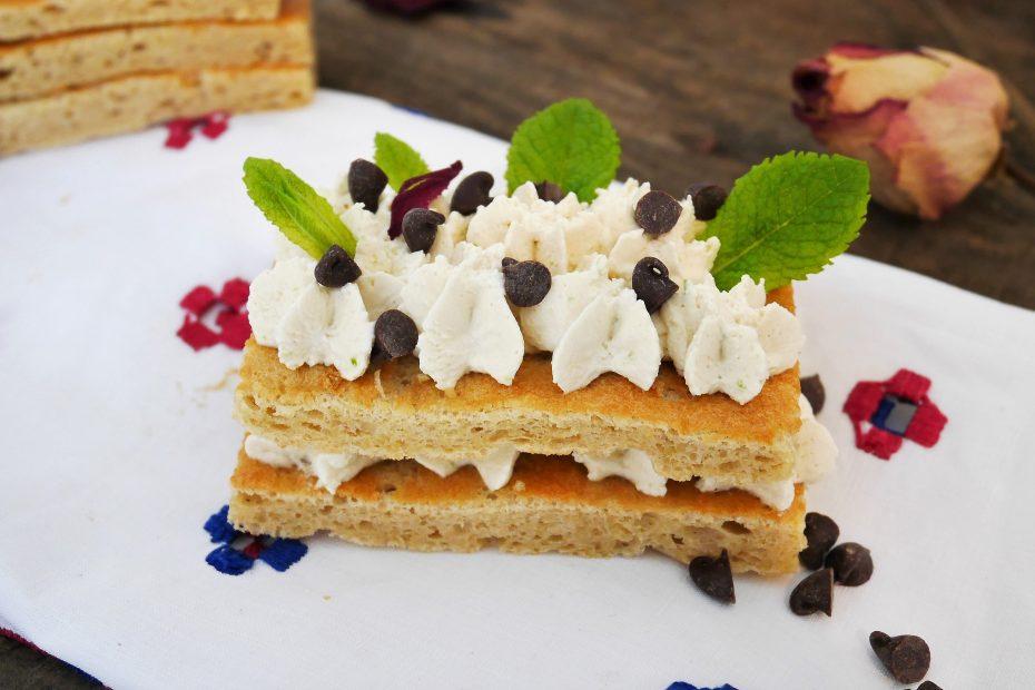 Biscuit Joconde pour Number cake. Recette du livre Number cake de Laetitia Laurent
