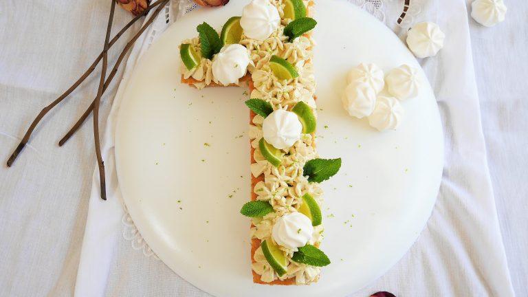Number cake mojito , recette du livre Number cakes de Laetitia Laurent