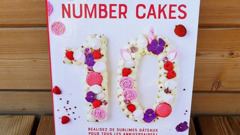 Number cakes Livre de Laetitia Laurent