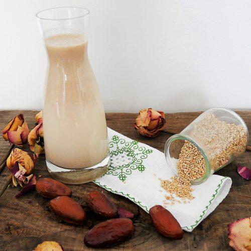Boisson aux graines de sésames vanillée