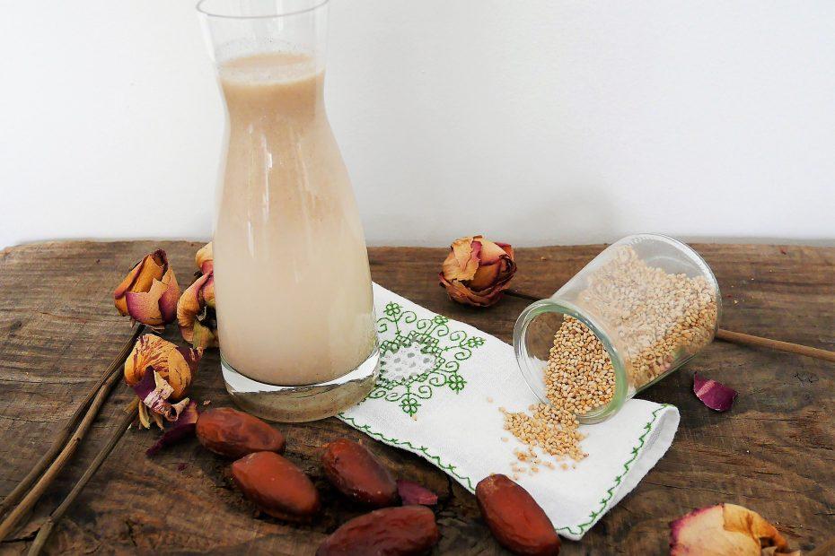 régime cétogène, boisson aux graine de sésame