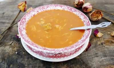Harira, soupe marocaine à l'agneau