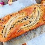 Banana Bread aux myrtille