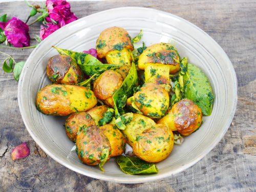 Pomme de terre en forme de champignons – Une idée de Chef Michel Dumas