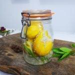 Comment faire des citron confit maison?