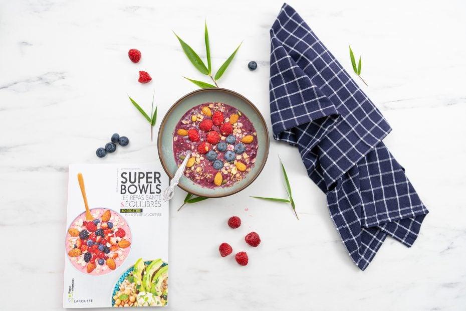 Superbowls les repas santé & équilibrés de Quitterie Pasquesoone