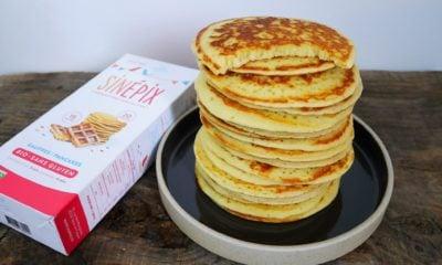 Découverte : Sinépix préparation pour gâteau bio sans gluten