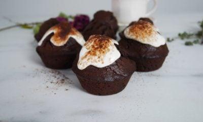Muffins au chocolat à l'indice glycémique bas
